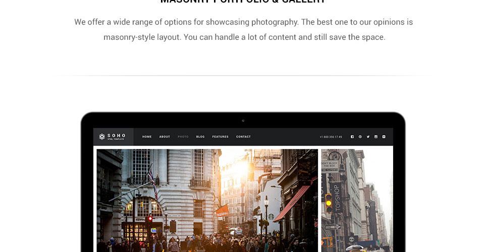 Website Design Template 62408 - company models
