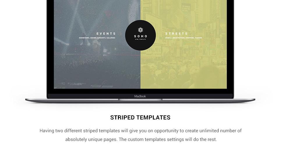 Website Design Template 62408 - gallery digital cameras company models