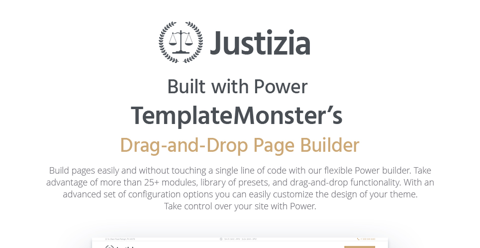 Justizia - Lawyer Services Responsive WordPress Theme
