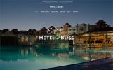 Responsivt HotelBliss - Spa & Resort Hotel WordPress-tema