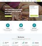 Благотворительность. Шаблон сайта 62462