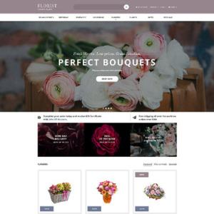 Screenshot of Florist Flower Online