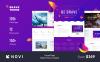 Responsivt Hemsidemall för sökmotoroptimeringshemsida New Screenshots BIG