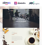 Кафе, рестораны, клубы. Шаблон сайта 62476