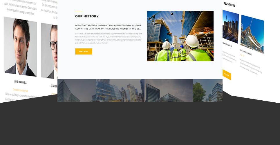 Website Design Template 62481 - business corporate professional