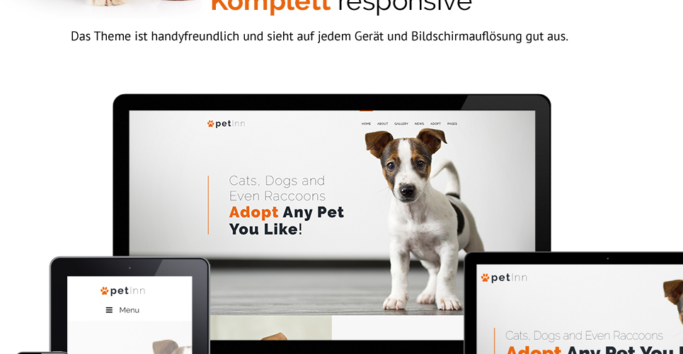 Website Design Template 62483 - accommodation adaptable apparel bed dishes bowl bone cleanup collar flea tick grooming supplies vitamins recommenda