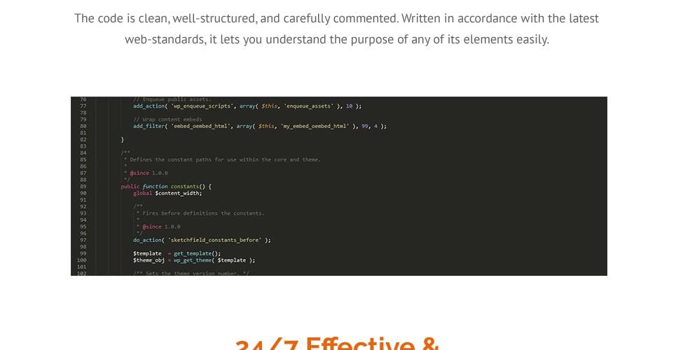Website Design Template 62483 - recommenda