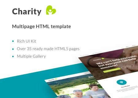 Charity Organization HTML