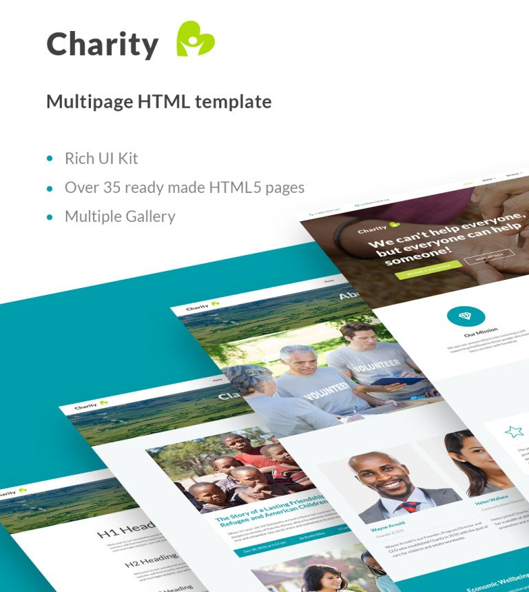 Charity Organization Html Template