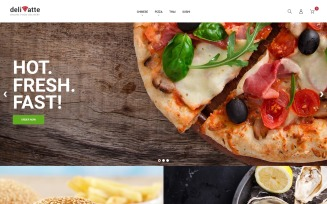 Deliatte - Food Delivery & Takeaway Magento Theme