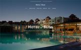 """HotelBliss - Spa & Complexe Hôtelier"" thème WordPress adaptatif"