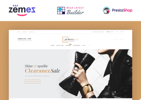Jewelrix - Jewelry & Beauty Items Prestashop