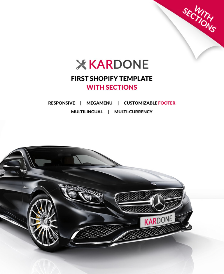 KarDone - Auto Parts Shop Shopify Theme New Screenshots BIG