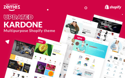 Kardone - Multipurpose Theme