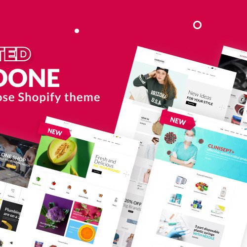 Kardone  - Shopify Template based on Bootstrap