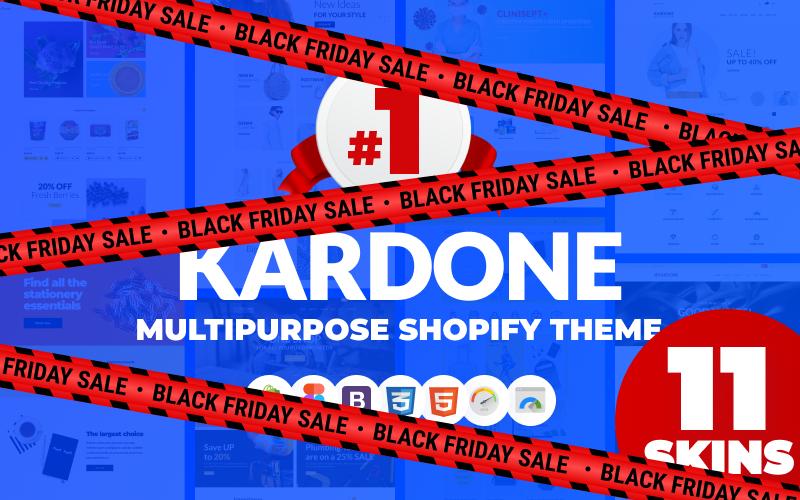 """KarDone - Multipurpose Designs"" - адаптивний Shopify шаблон №62439"