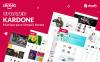 KarDone - шаблон Shopify интернет-магазина автомобильных запчастей Большой скриншот