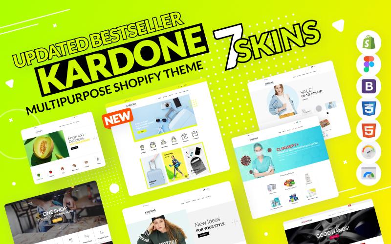 KarDone - Shopify Multipurpose Designs Theme №62439