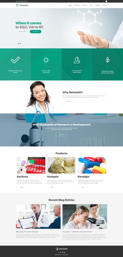 ReHealth - Medical & Drug Store