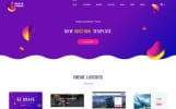Responsive Website template over Feng shui