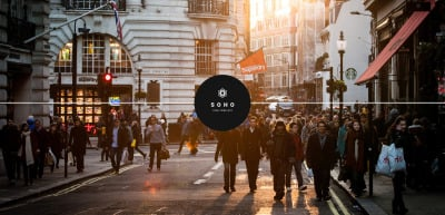 Soho - Photo Portfolio Website Template Website Template
