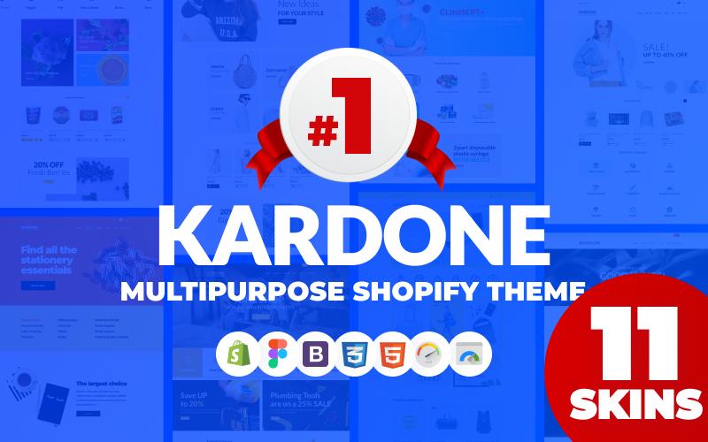 "Tema Shopify ""KarDone - Multipurpose Designs"" #62439"