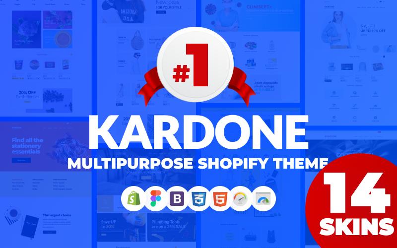 "Tema Shopify Responsive #62439 ""KarDone - Multipurpose Designs"""