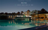 "WordPress Theme namens ""HotelBliss - Spa & Resort Hotel"""