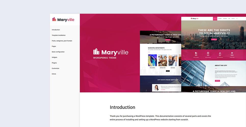 City Portal WordPress Theme
