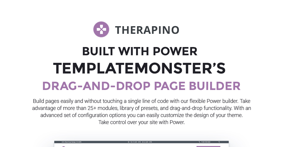 Therapino - Physical Therapy WordPress Theme