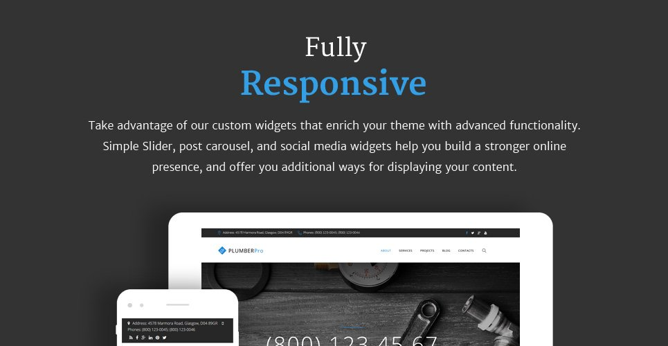 Website Design Template 62503 - constructions service plumber handyman house repair maintenance