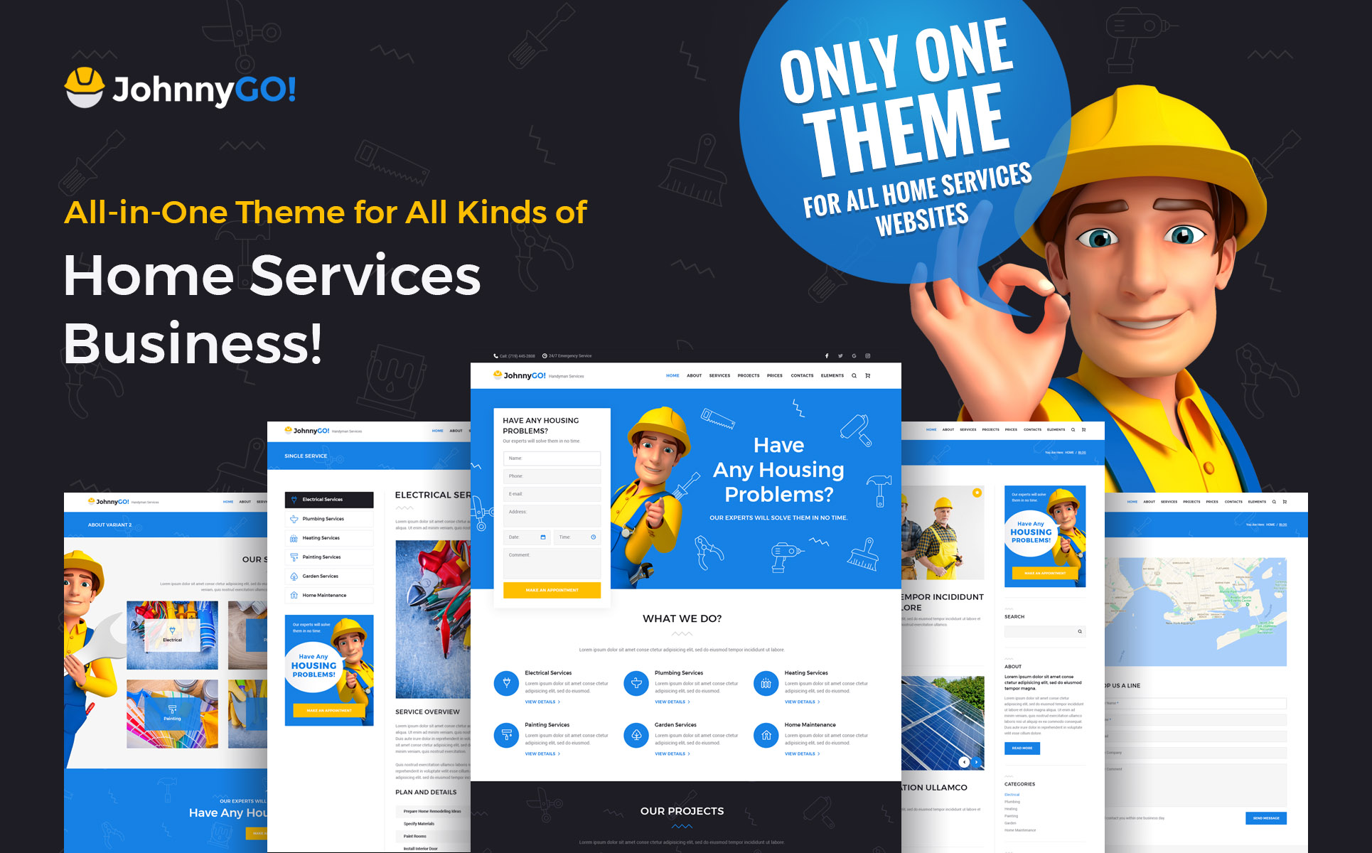 WordPress Theme  #62555