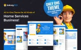 Responsive WordPress thema over Huis remodeling