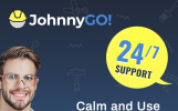 """JohnnyGo - Multipurpose Home Services"" Responsive WordPress thema"