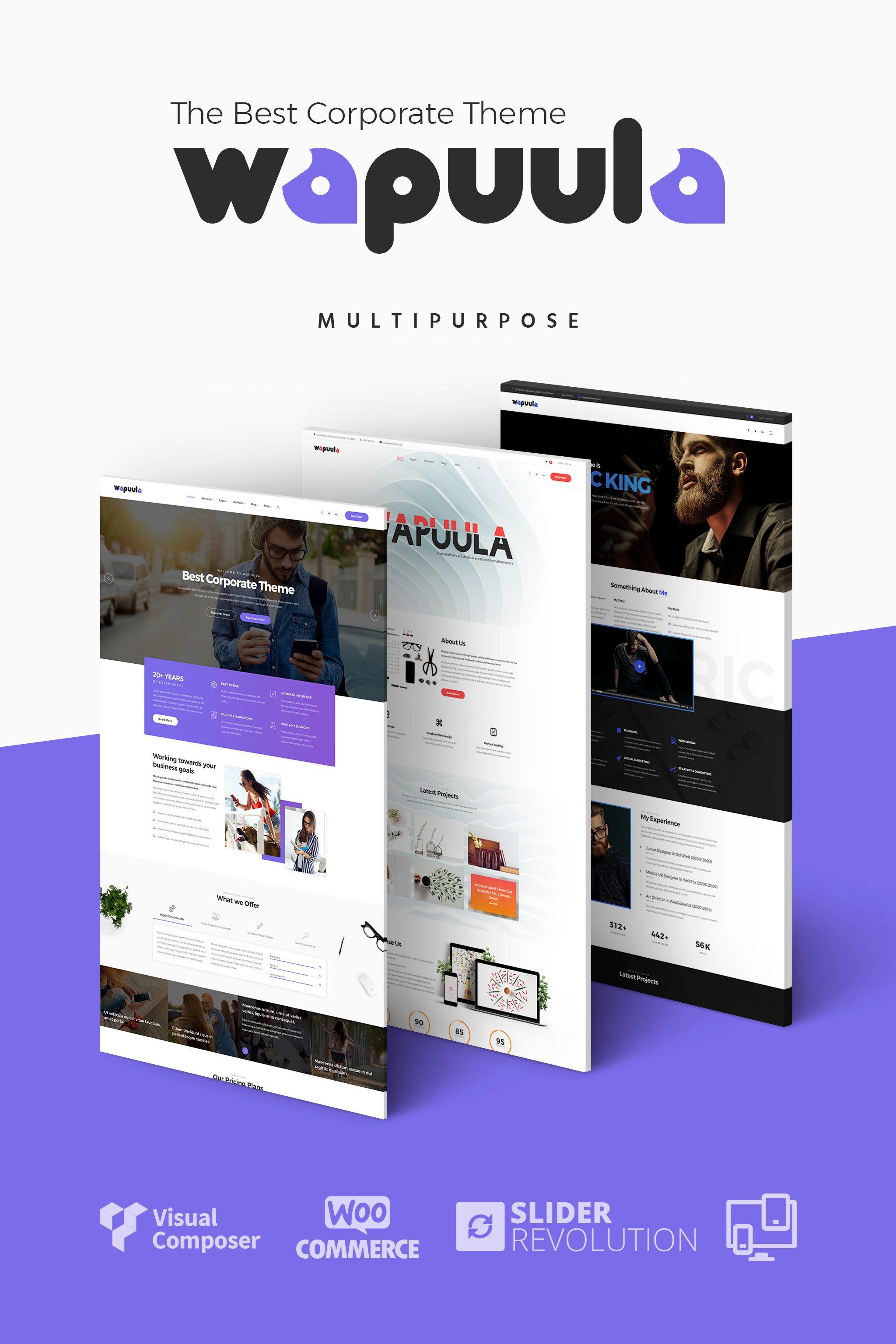 Wapuula - Multipurpose Corporate WordPress Theme WordPress Theme