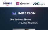 Imperion - Multifunktionales WordPress Theme für Unternehmensidentität