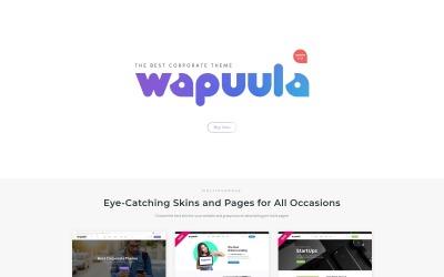 Wapuula - Çok Amaçlı Kurumsal WordPress Teması #62666