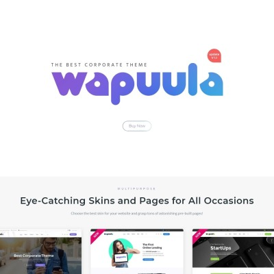 Wapuula - Multipurpose Corporate Wordpess Theme  Wapuula - Multipurpose Corporate Wordpess Theme #62666