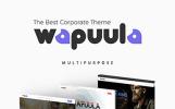 """Wapuula - thème corporatif multi-usage"" thème WordPress adaptatif"