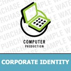 Computers Corporate Identity Template 6307