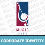 Music Corporate Identity Template 6314