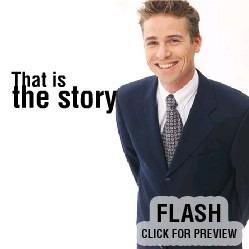 Flash Intro Vorlage für Business und Dienstleistungen FLASH INTRO SCREENSHOT
