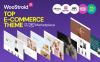 Responsivt Woostroid - Multifunktionell WooCommerce-tema En stor skärmdump