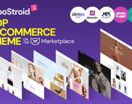 Woostroid2 - Multipurpose WooCommerce Theme