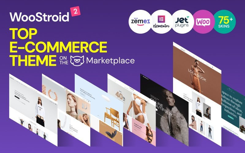 "WooCommerce Theme namens ""Woostroid - Mehrzweck"" #63000"