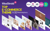 """Woostroid - Multifunctioneel"" Responsive WooCommerce Thema Groot  Screenshot"