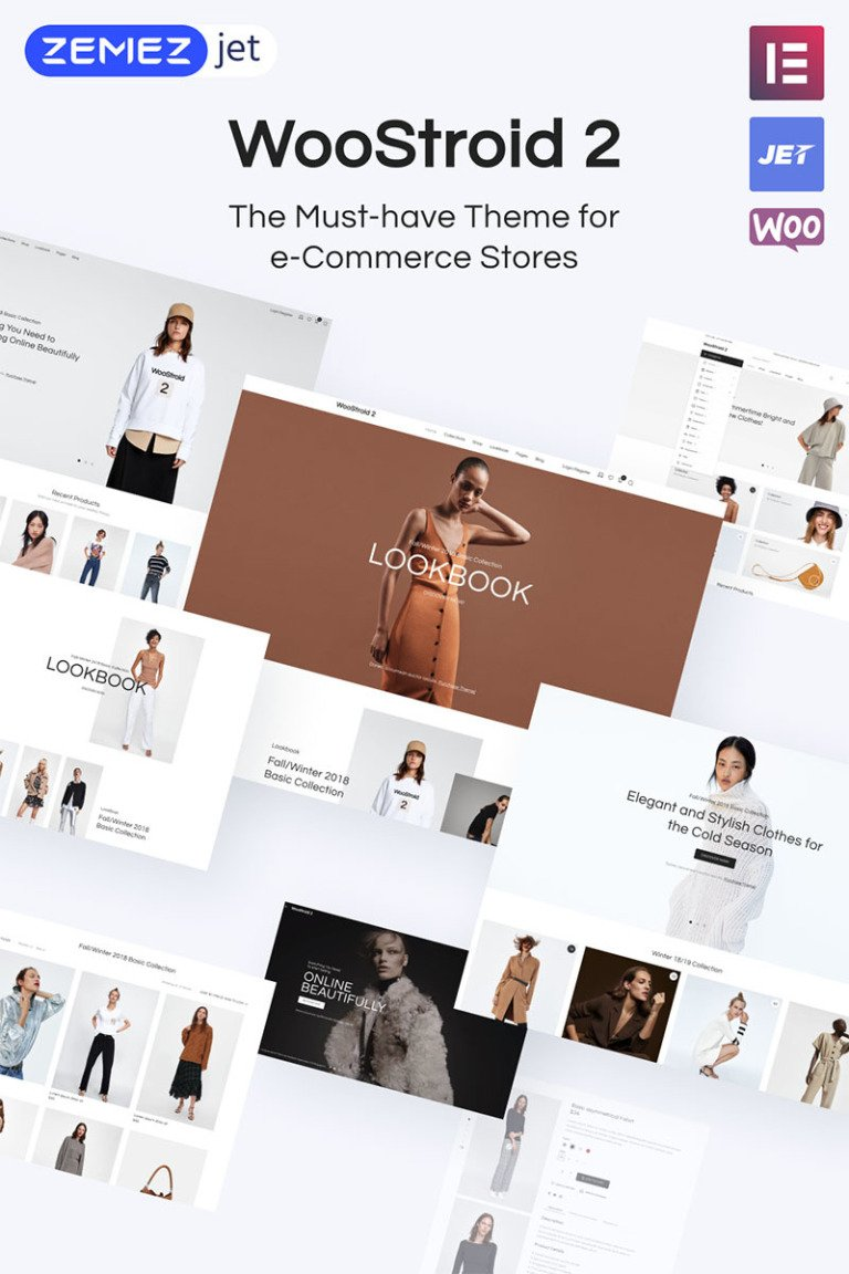 Woostroid - Multipurpose WooCommerce Theme Big Screenshot