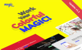 Responsivt Magic WordPress-tema