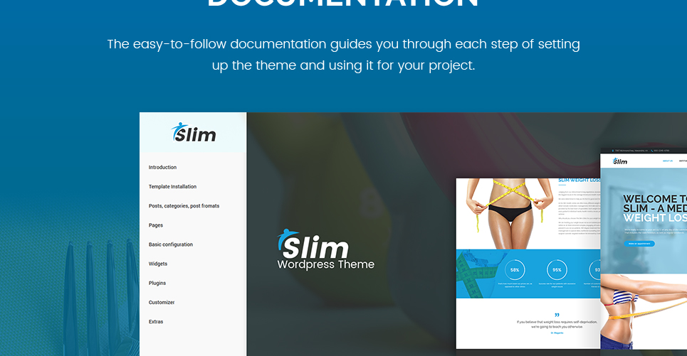 Tema de WordPress #63353 para Sitio de Perdida de peso