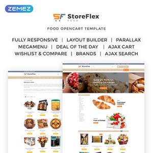 Screenshot of Storeflex Food Online